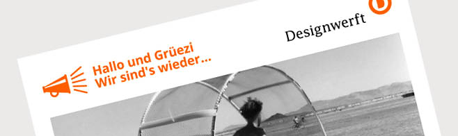 Designwerft Newsletter